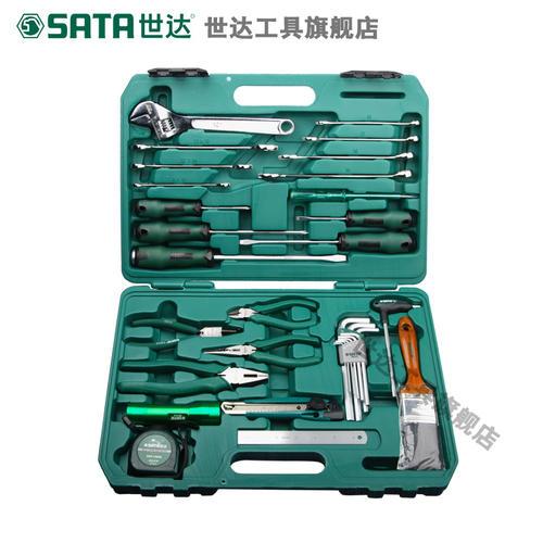 世达五金工具电梯保养维修扳手钳子螺丝刀汽车修理组合套装09551