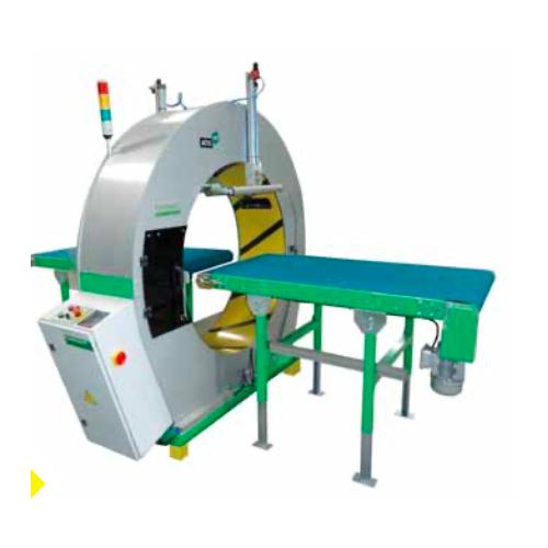PLASTIBAND 水平缠绕机ATIS 125   在线覆顶式缠绕机  缠绕膜裹包机