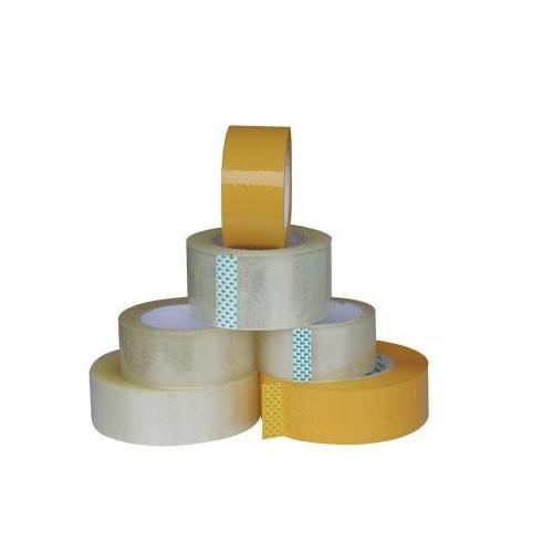 厂家直销米黄封箱胶带快递打包胶带封口胶封箱胶黄色胶布