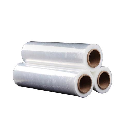 工业包装打包拉伸膜 透明pe薄膜自粘膜电线膜 PE缠绕膜
