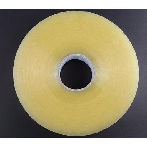透明黄色胶带 透明封口胶布胶带批发警示语封箱胶带