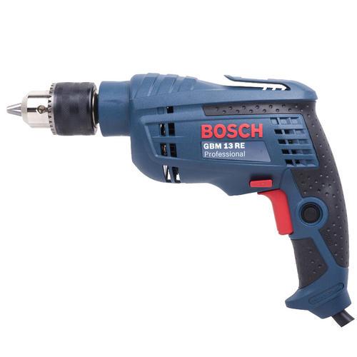博世(BOSCH)GBM 13 RE 手电钻电动螺丝刀手枪钻 600瓦插电式 正反转无级变速 工业级