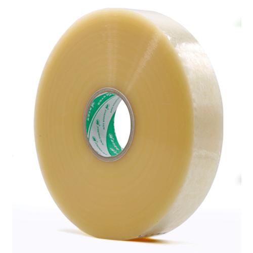 透明胶带厂家 快递打包米黄色封箱胶带 OPP封箱透明胶带
