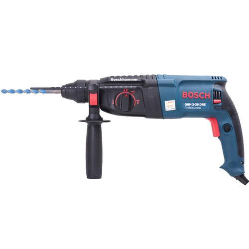 博世(BOSCH)GBH 2-26 DRE 轻型电锤电钻电镐 800瓦插电式多功能四坑电锤工具箱 工业级