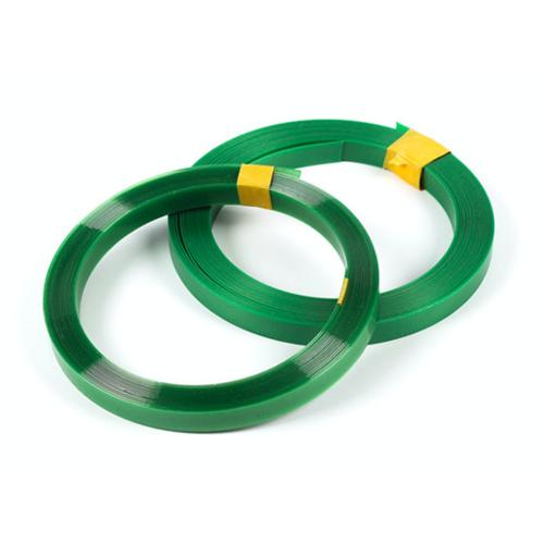厂家供应PET塑钢打包带1608绿色塑钢带机用打包条塑料包装捆扎带