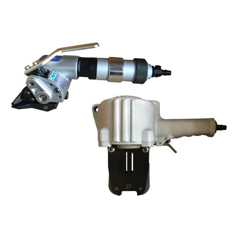 盟安气动钢带拉紧器      气动钢带咬扣器PT52    台湾盟安打包机维修