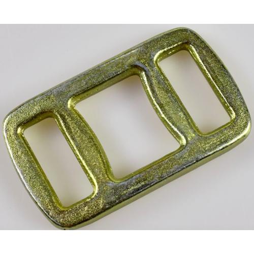 德曼编织带打包扣   目字扣金属  锻造目字扣