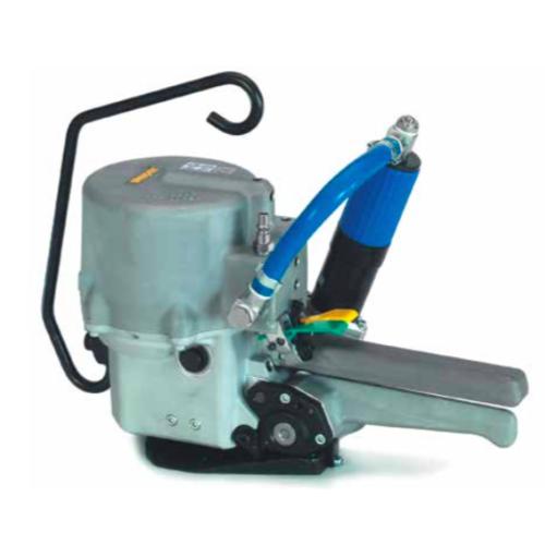 瑞士STRAPEX 气动免扣钢带打包机STP63   纤维带打包机维修   petpp带电动免扣热熔全自动打包机