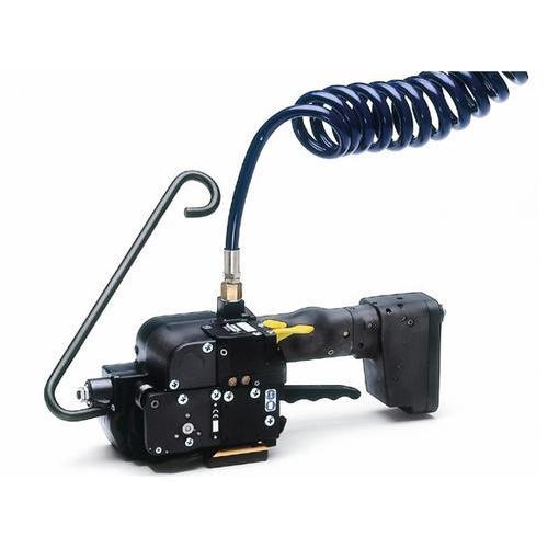 气动纤维带打包机   瑞士FROMM塑钢带打包机P356  塑钢带电动打包机手提式