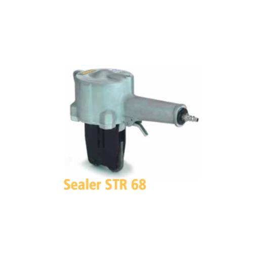 瑞士STRAPEX 气动钢带咬扣器STR68      编织捆包带拉紧器   多功能双钩牵引收紧器棘轮式