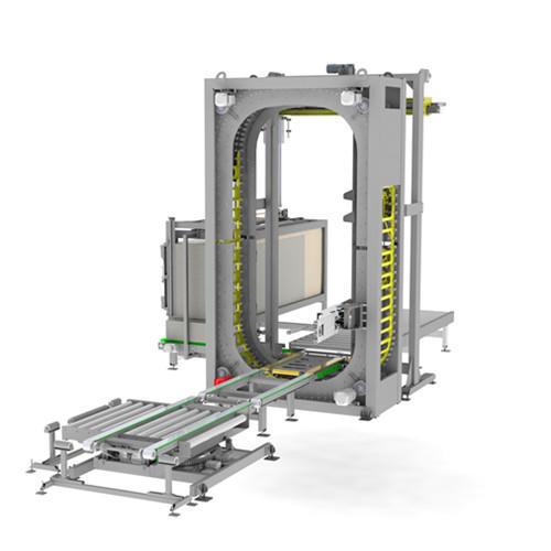 OMC-VO 大型超重货物专用自动胶膜缠绕机    FROMM缠绕机   FROMM在线覆顶式缠绕机