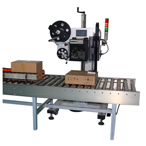 物流电商贴标机 生产线快递单打印贴标机 实时在线打印贴标机