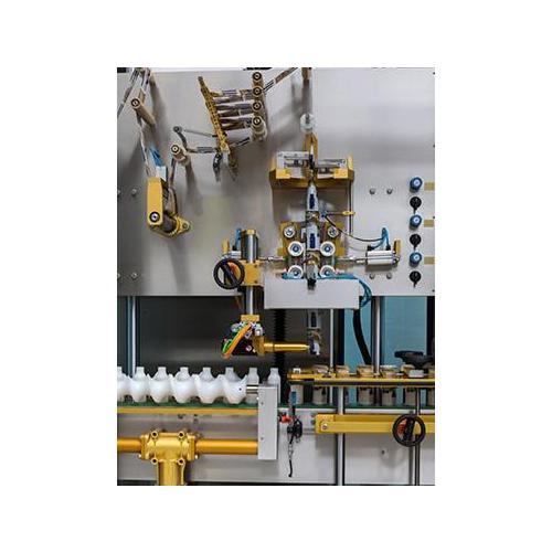 意大利PE贴标机维修  进口意大利贴标机   全自动玻璃瓶定位贴标机