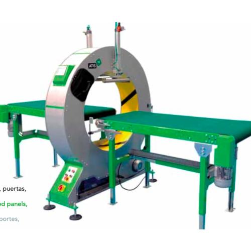 PLASTICBAND缠绕机维修  PLASTICBAND水平缠绕机NELEO 90   进口缠绕机