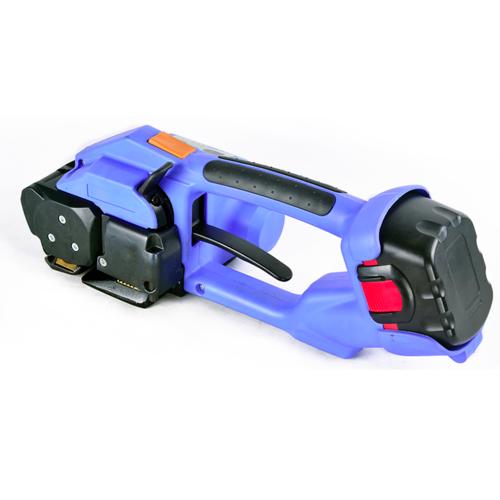 塑钢带手提式电动打包机全自动热熔免扣式打包机 打包机维修