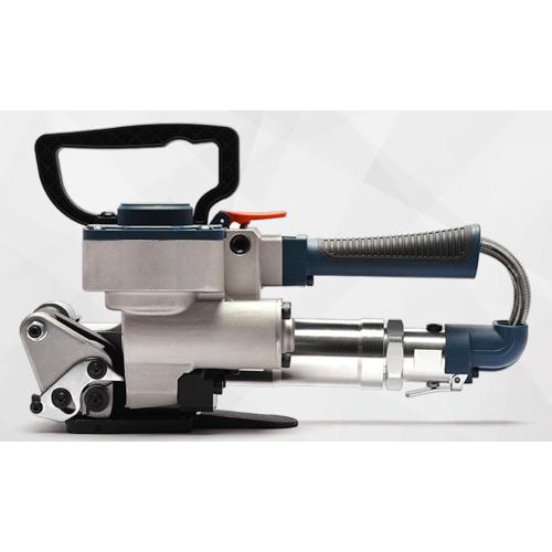 塑钢带气动打包机 手提式热熔打包机 pet免扣气动打包机