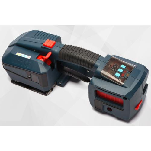 手提式电动打包机 PPPET塑钢带电动捆扎机充电全自动热熔塑钢带打包机