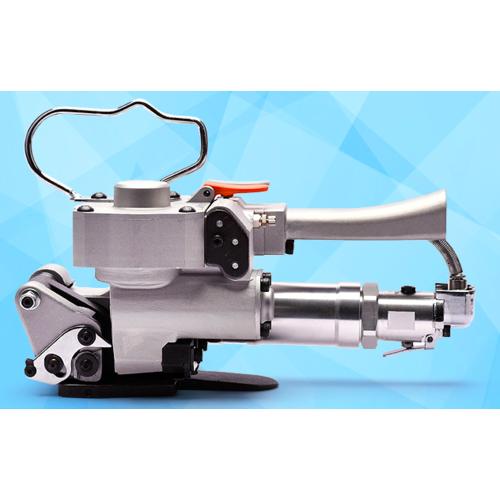 气动打包机 手持式pet塑钢带免扣热熔 自动小型捆扎机