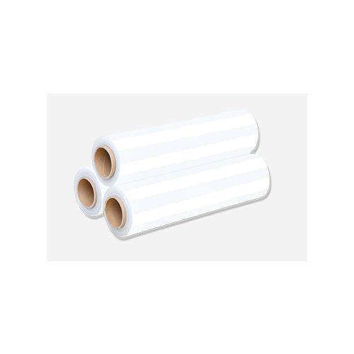 厂家直销拉伸膜缠绕膜围膜pe薄膜筒料硅胶专用膜粘膜