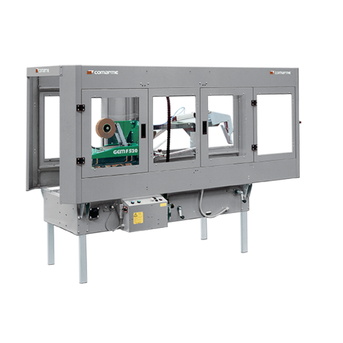 GEM F520封箱机配件   COMARME全自动封箱机维修  意大利COMARME小箱折盖封箱机
