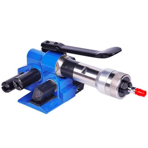 气动打包机 塑钢带PP纤维带捆扎机 小型气动热熔打包机
