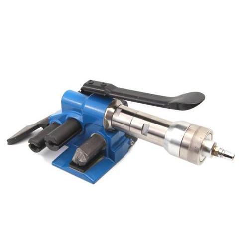 气动打包机塑钢带PP纤维带捆扎机 小型气动纤维带打包机