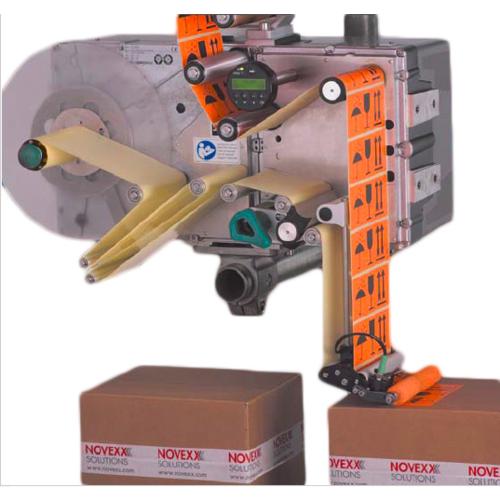 NOVEXX 即印即贴贴标机    实时打印贴标机  厂家直供全自动打印贴标机