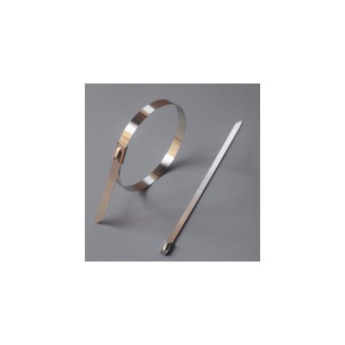 自锁式不锈钢扎带 金属钢捆扎带桁架固定一拉得船用电缆铁扎扣