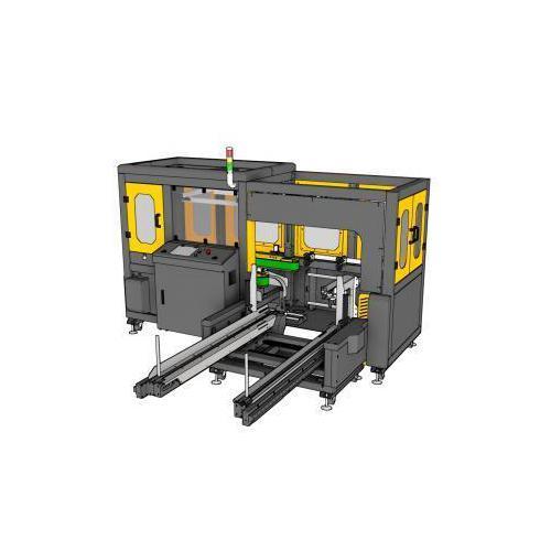自动折底机开箱机流水线   纸箱自动折盖封箱机  台湾纬华PW-568AHERT封箱机