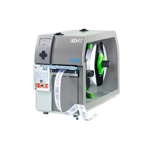 德国CAB 条码打印机XD4T   热敏不干胶打印机   服装吊牌水洗唛打印机