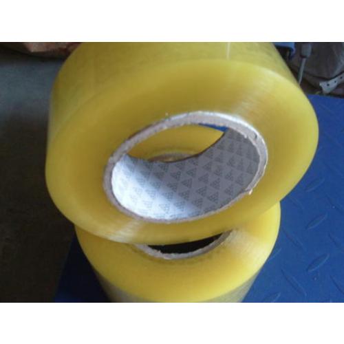 OPP透明封箱胶带 黄色封箱打包胶带 快递封口胶带