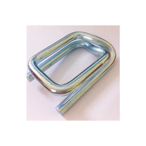 聚酯柔性纤维打包带打包扣 各种规格纤维打包扣回型扣