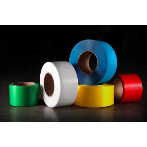 pp打包带环保透明黄白色带塑料手工包装带半自动机用带