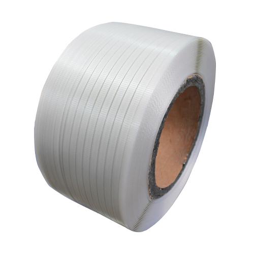 厂家直销全新材料环保白色pp打包带 自动机用透明打包带