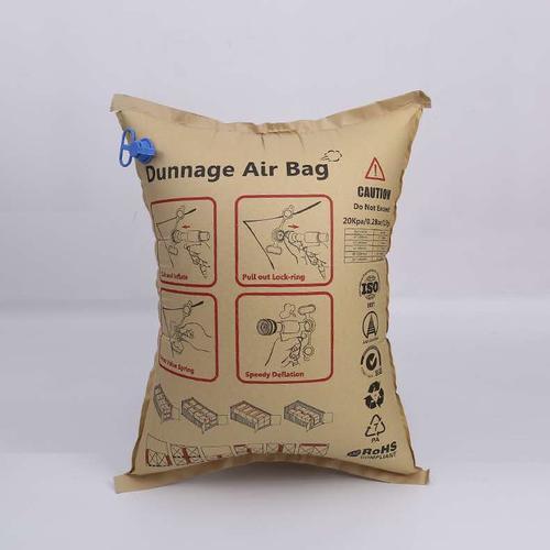 集装箱充气袋货物间隙填充空气囊 牛皮纸防撞缓冲气袋气囊