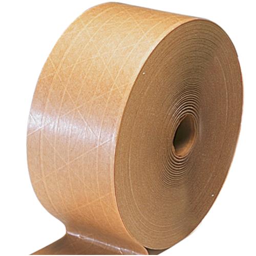 湿水牛皮纸 有线夹筋湿水牛皮胶纸 湿水封箱胶带