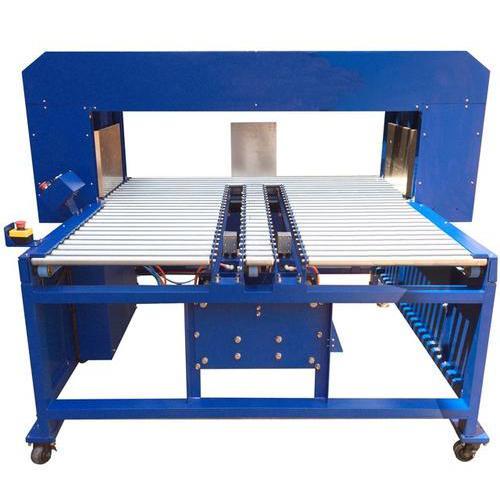 全自动瓦楞纸箱拍齐机 自动打包机工作流程 瓦楞纸箱打包机如何保养