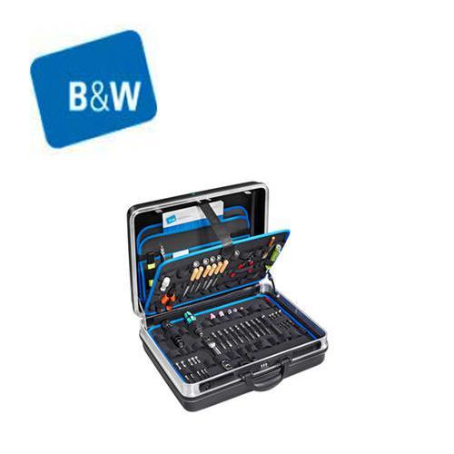 倍威B&W箱包 松紧带易捷114.02/L工具箱 坚固的铝框工具箱