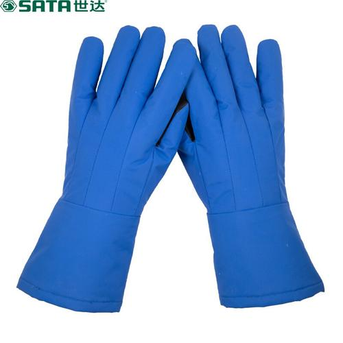 世达(SATA)SF0501A 加长型 超低温液氮手套 隔热防水液氮液氨劳动防护手套