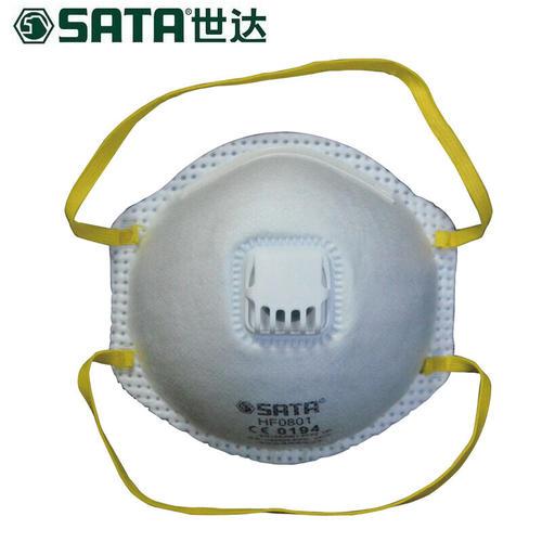 世达(SATA)HF0801 防油性颗粒物KN95杯型口罩带呼吸阀