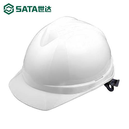 世达(SATA)TF0101W V顶标准型安全帽-白色