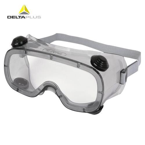 代尔塔101124  护目镜 防风镜防沙防尘眼镜 透明工业劳保防护眼镜 防飞溅骑车可佩戴近视镜