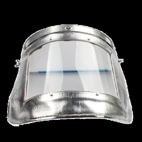 宝工Pro'sKit  铝箔面罩耐高温隔热面屏防护头罩面具电焊冶炼防飞溅3*23*42cm