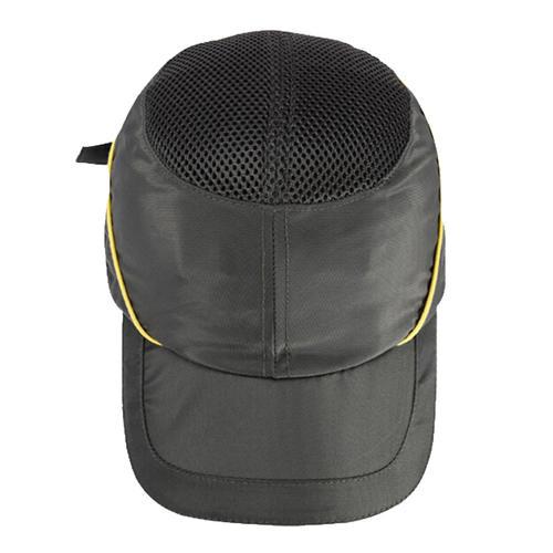 代尔塔/DELTAPLUS 102110-GR 防砸透气款工地施工劳保防护安全帽 灰色