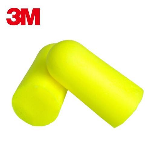 3M 隔音耳塞312-1250 睡眠防噪音男女学习消音降噪工业静音隔音耳塞