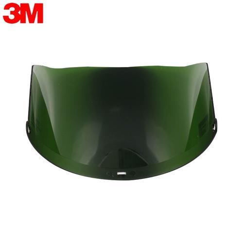 3M 82705 防冲击防化防辐射热铸造用遮光绿色焊接防护面屏(需配合支架使用)1个
