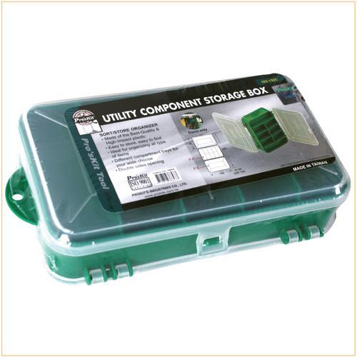 宝工(Pro'sKit)103-132C 13格双开耐摔零件盒 165x95x45mm