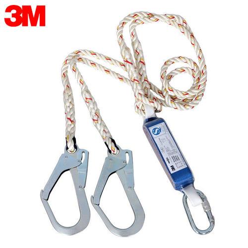 3M 凯比特安全带5点式 高空作业防坠落安全带全身式施工户外安全绳安全带 1390235减震安全绳