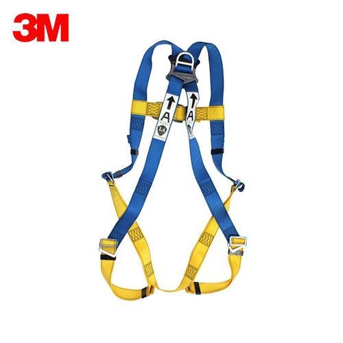3M 凯比特安全带5点式 高空作业防坠落安全带全身式施工户外安全绳安全带 五点可调节攀爬安全带 1390024