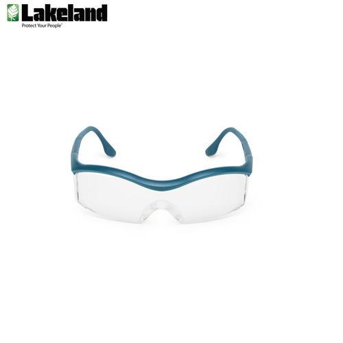 雷克兰Lakeland 防风镜防紫外线 防护眼镜 骑车防护眼镜平光透明安全防护眼镜防尘工业防目镜
